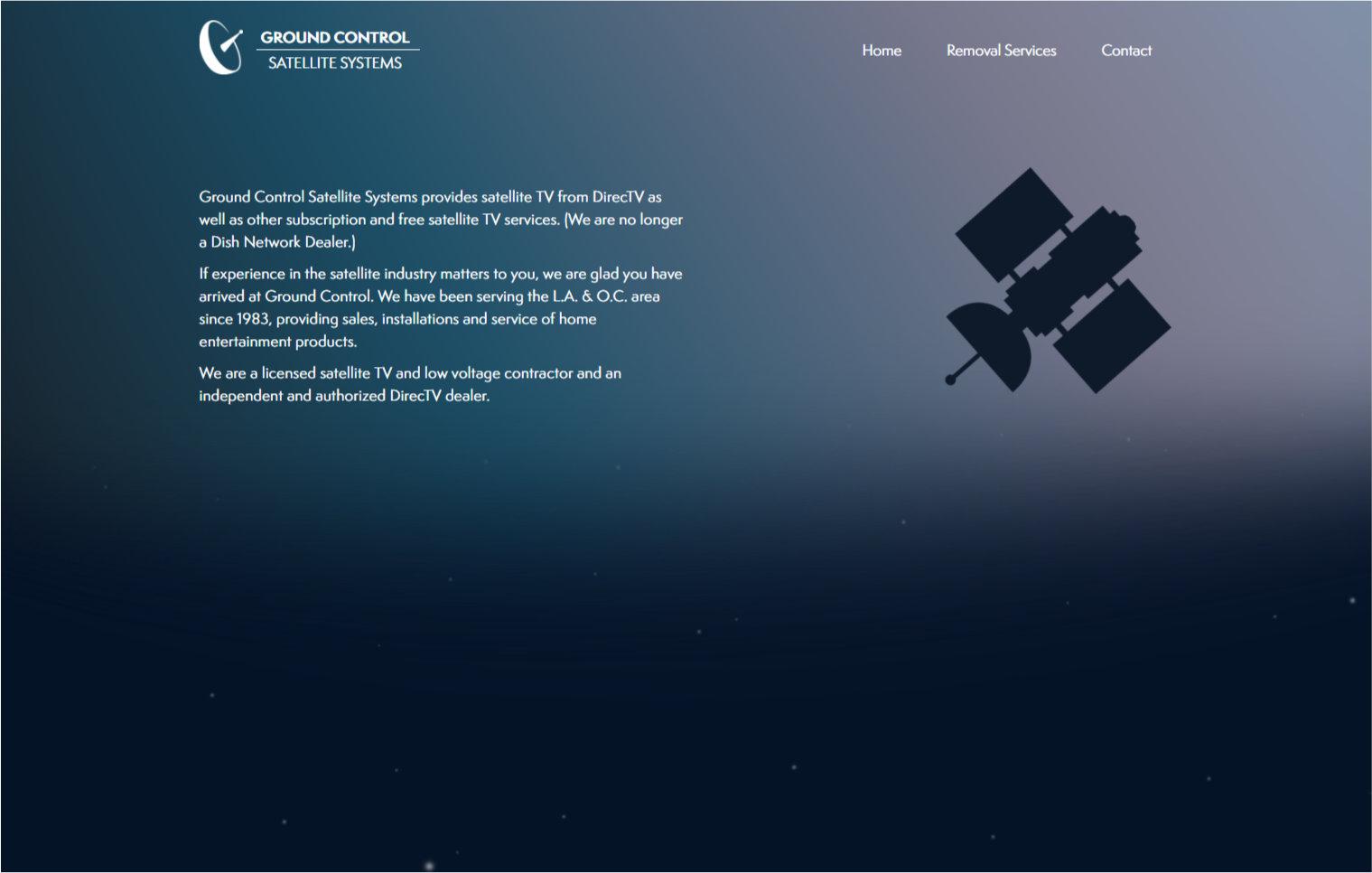 Ground Control Satellites